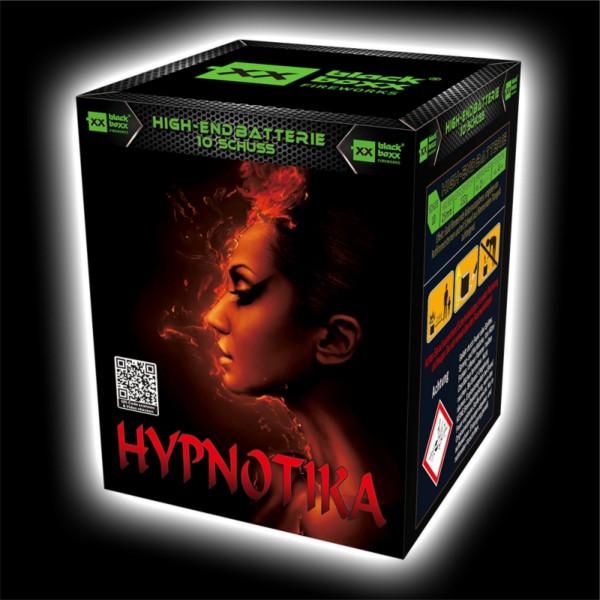 Feuerwerk Hypnotica, 10 Schuss Batterie  von Blackboxx online kaufen im Feuerwerkshop Funkelfun