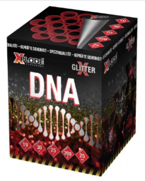 Feuerwerk D N A 19 Schuss von Xplode online kaufen im Feuerwerkshop Funkelfun