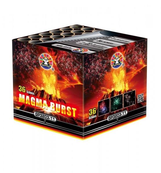 Feuerwerk Magma Burst von Panda online kaufen im Feuerwerkshop Funkelfun