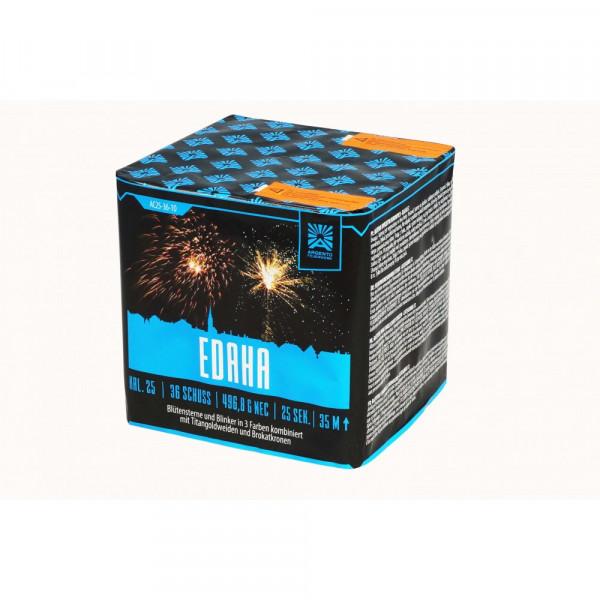 Feuerwerk Edaha von Funke online kaufen im Feuerwerkshop Funkelfun