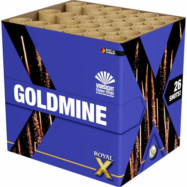Feuerwerk Goldmine von Lesli online kaufen im Feuerwerkshop Funkelfun