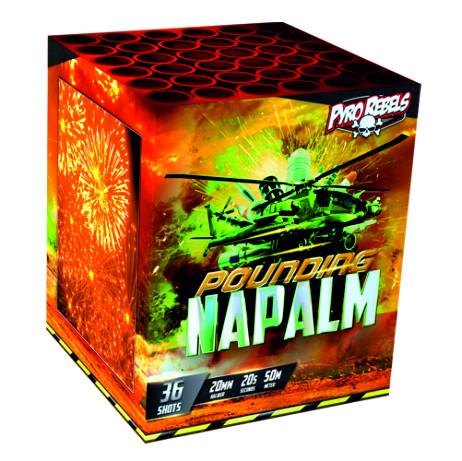 Feuerwerk POUNDING NAPALM von Gaisha online kaufen im Feuerwerkshop Funkelfun