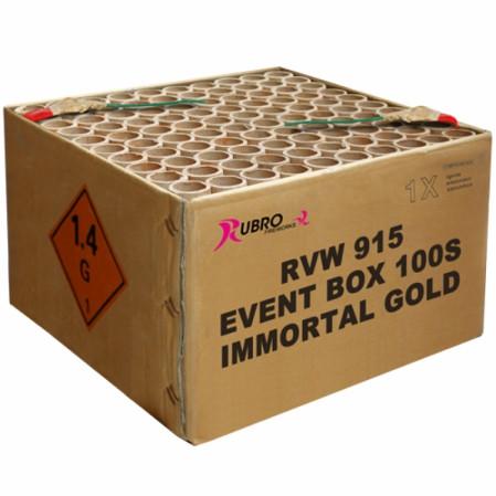 Feuerwerk EVENT IMMORTAL GOLD 100'S von Rubro online kaufen im Feuerwerkshop Funkelfun