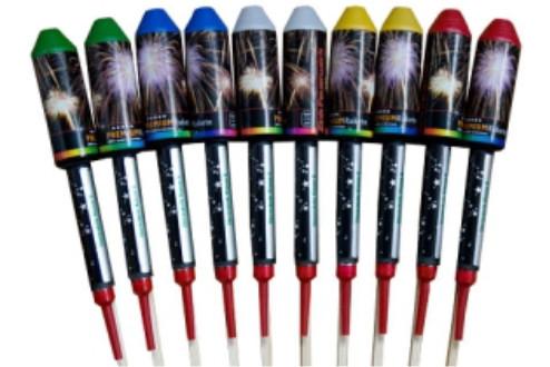Feuerwerk Sternrakete PREMIUM sort. von Zink online kaufen im Feuerwerkshop Funkelfun