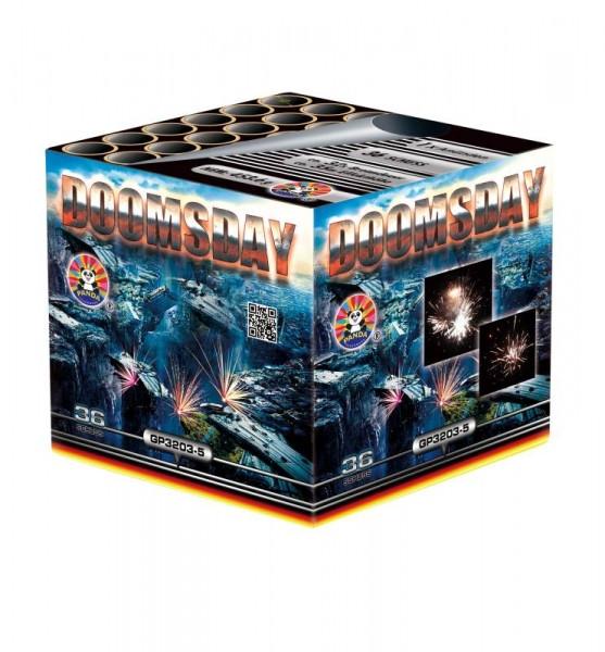 Feuerwerk Doomsday von Panda online kaufen im Feuerwerkshop Funkelfun