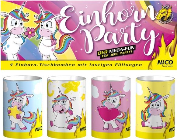 Feuerwerk Einhorn Party von NICO online kaufen im Feuerwerkshop Funkelfun