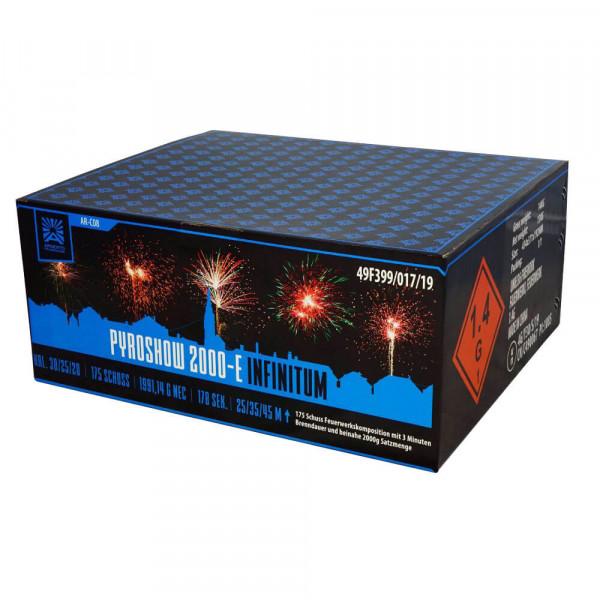 Feuerwerk Pyroshow 2000-E Infinitum von Funke online kaufen im Feuerwerkshop Funkelfun
