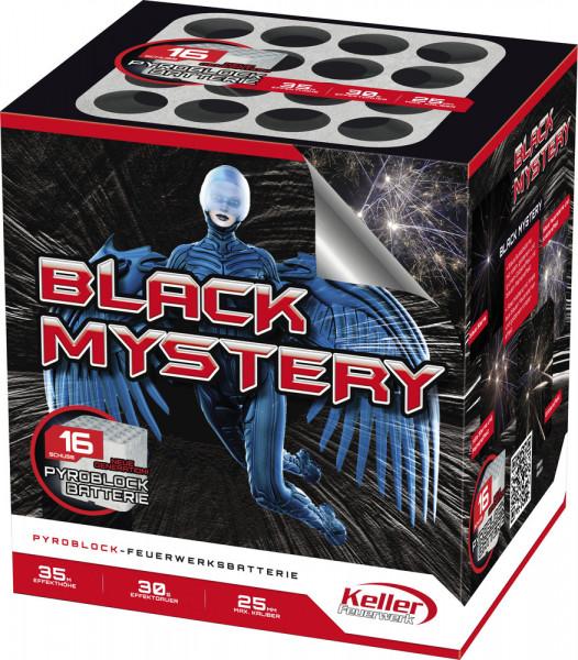 Feuerwerk Black Mystery von Keller online kaufen im Feuerwerkshop Funkelfun
