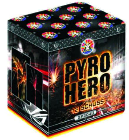 Feuerwerk Pyro Hero von Panda online kaufen im Feuerwerkshop Funkelfun