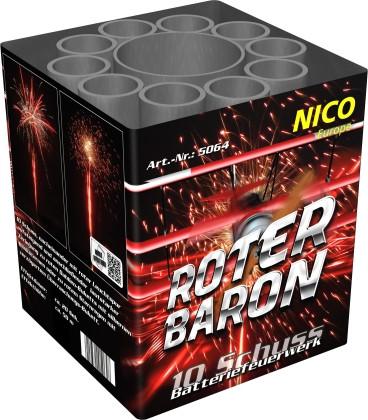 Feuerwerk Roter Baron von NICO online kaufen im Feuerwerkshop Funkelfun