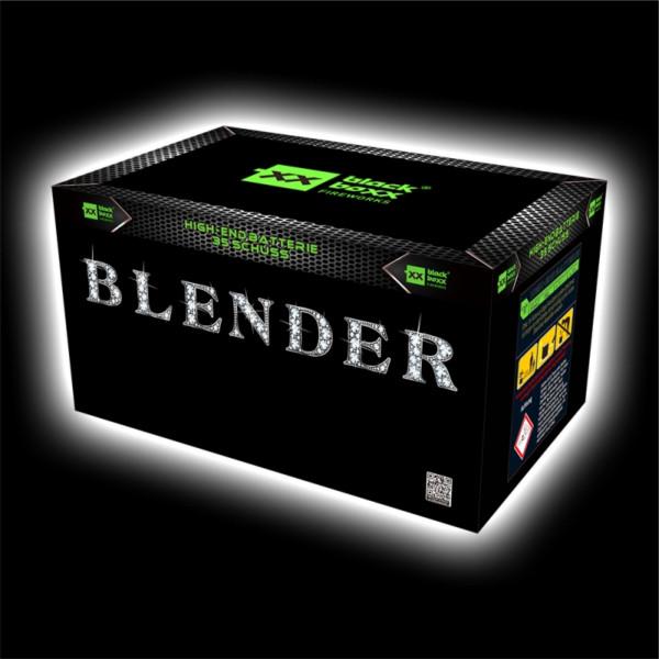Feuerwerk Blender, 35 Schuss Fächer Batterie  von Blackboxx online kaufen im Feuerwerkshop Funkelfun