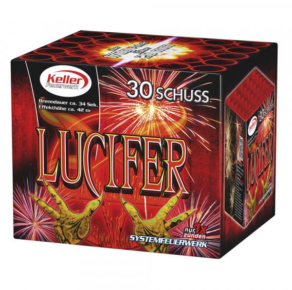 Feuerwerk Lucifer 30 Schuss von Keller online kaufen im Feuerwerkshop Funkelfun