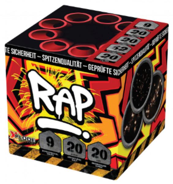 Feuerwerk RAP Batterie 9 Schuss  von Xplode online kaufen im Feuerwerkshop Funkelfun