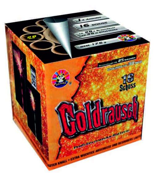 Feuerwerk Goldrausch von Panda online kaufen im Feuerwerkshop Funkelfun