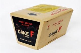 Feuerwerk Cake F von Pyrotrade online kaufen im Feuerwerkshop Funkelfun