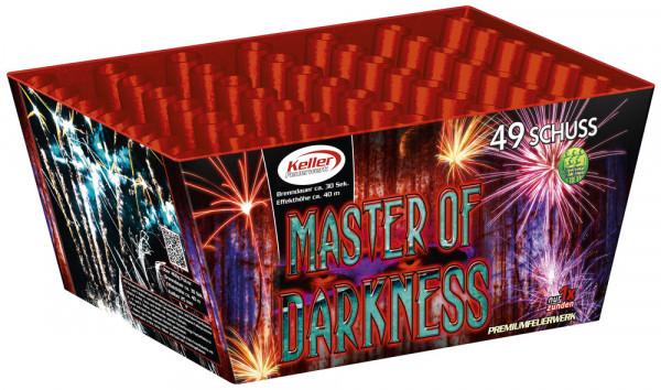 Feuerwerk Master of Darkness 49 Schuss von Keller online kaufen im Feuerwerkshop Funkelfun