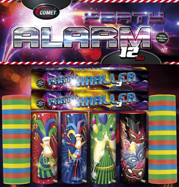 Feuerwerk Party Alarm von Comet online kaufen im Feuerwerkshop Funkelfun