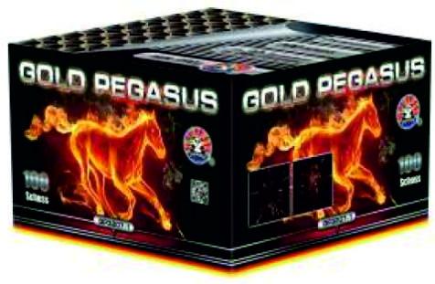 Feuerwerk Gold Pegasus von Panda online kaufen im Feuerwerkshop Funkelfun
