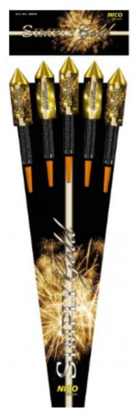 Feuerwerk Simply Gold von NICO online kaufen im Feuerwerkshop Funkelfun