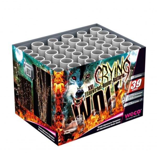 Feuerwerk Crying Wolf von Weco online kaufen im Feuerwerkshop Funkelfun