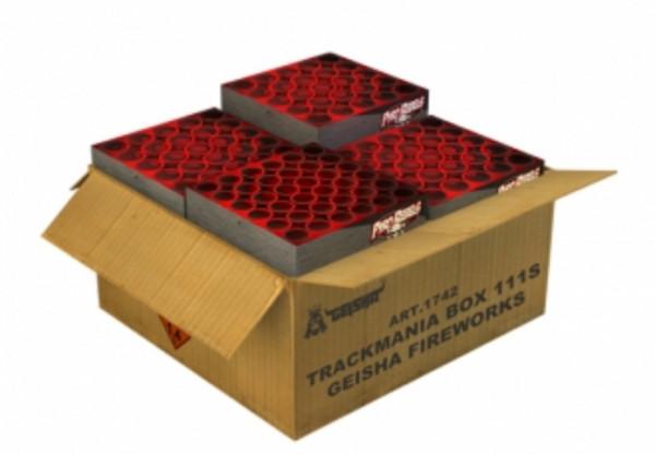 Feuerwerk TRACKMANIA BOX von Gaisha online kaufen im Feuerwerkshop Funkelfun