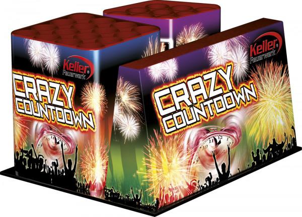 Feuerwerk Crazy Countdown 25 Schuss Ve von Keller online kaufen im Feuerwerkshop Funkelfun