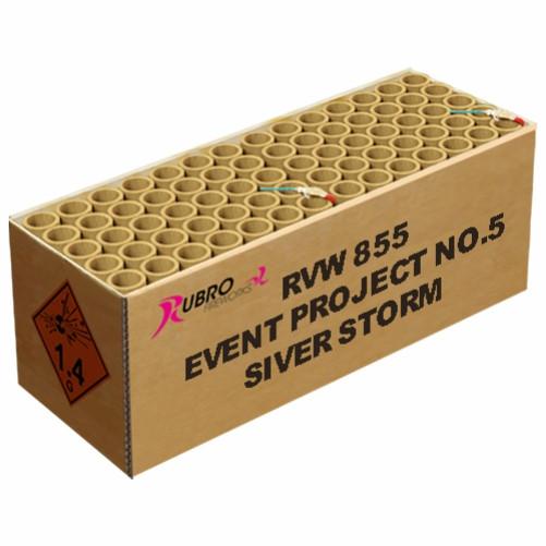 Feuerwerk EVENT PROJECT NO. 5 SILVER STORM von Rubro online kaufen im Feuerwerkshop Funkelfun