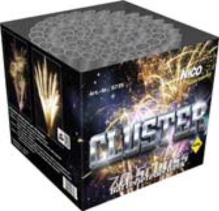 Feuerwerk Cluster von NICO online kaufen im Feuerwerkshop Funkelfun