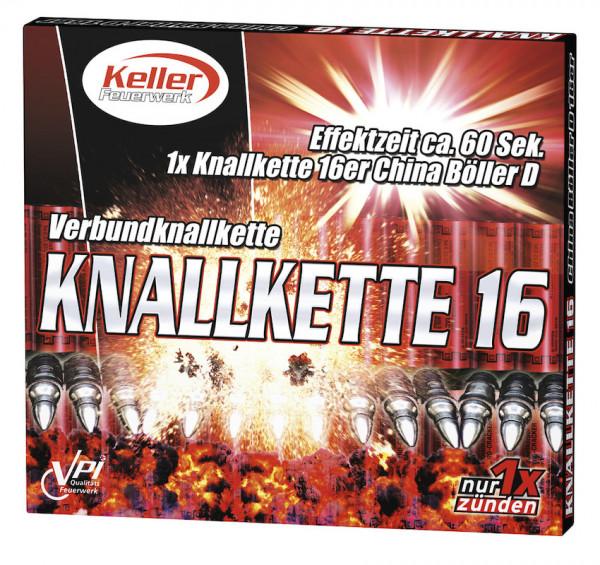 Feuerwerk Knallkette 16 D von Keller online kaufen im Feuerwerkshop Funkelfun