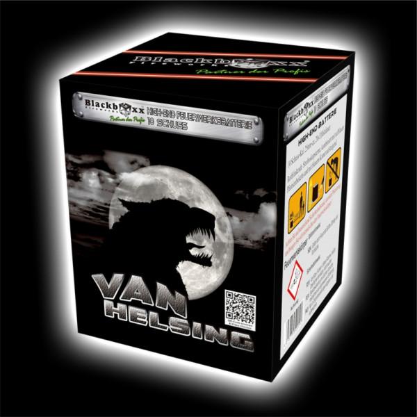 Feuerwerk Van Helsing, 10 Schuss Batterie  von Blackboxx online kaufen im Feuerwerkshop Funkelfun