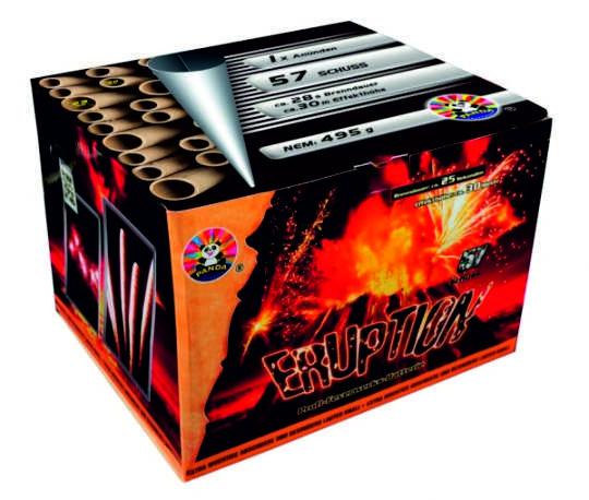 Feuerwerk Eruption von Panda online kaufen im Feuerwerkshop Funkelfun
