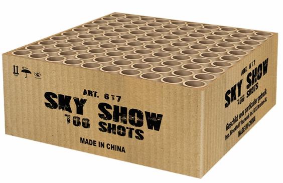 Feuerwerk Sky Show von Broekhoff online kaufen im Feuerwerkshop Funkelfun