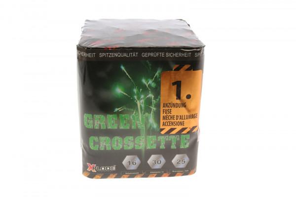 GREEN CROSSETTE