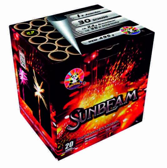 Feuerwerk Sunbeam von Panda online kaufen im Feuerwerkshop Funkelfun