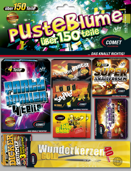 Feuerwerk Pusteblume von Comet online kaufen im Feuerwerkshop Funkelfun