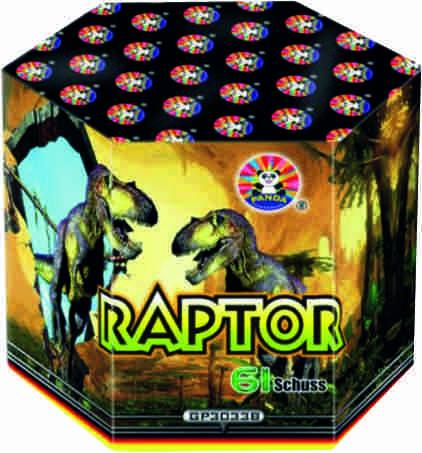 Feuerwerk Raptor von Panda online kaufen im Feuerwerkshop Funkelfun