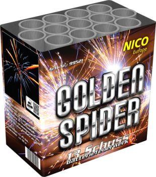 Feuerwerk Golden Spider von NICO online kaufen im Feuerwerkshop Funkelfun
