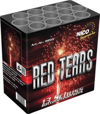 Feuerwerk Red Tears von NICO online kaufen im Feuerwerkshop Funkelfun