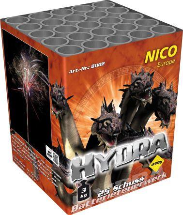 Feuerwerk Hydra von NICO online kaufen im Feuerwerkshop Funkelfun