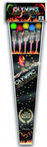 Feuerwerk Olympic Ring Rockets VE von Startrade online kaufen im Feuerwerkshop Funkelfun