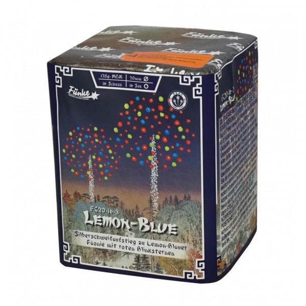 Feuerwerk Lemon-Blue von Funke online kaufen im Feuerwerkshop Funkelfun