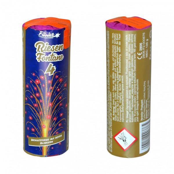 Feuerwerk Riesen-Fontäne 4 von Funke online kaufen im Feuerwerkshop Funkelfun