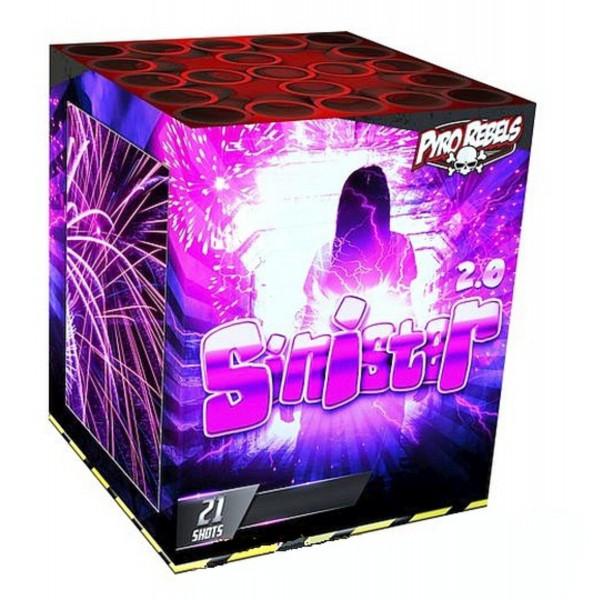 Feuerwerk SINISTER 2.0 von Gaisha online kaufen im Feuerwerkshop Funkelfun