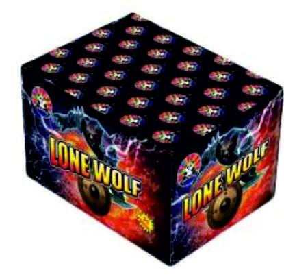 Feuerwerk Lone Wolf von Panda online kaufen im Feuerwerkshop Funkelfun