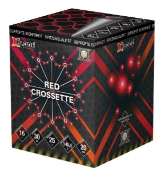 Feuerwerk Red Crossette von Xplode online kaufen im Feuerwerkshop Funkelfun