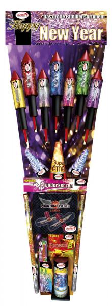 Feuerwerk Happy New Year von Keller online kaufen im Feuerwerkshop Funkelfun