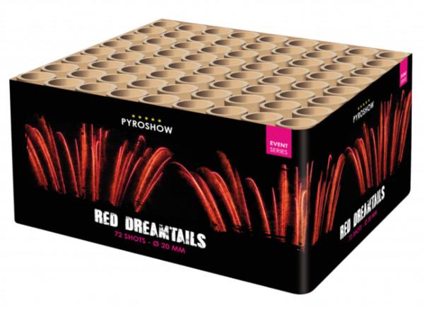 Feuerwerk Red Tiger Tails 72sh. von Broekhoff online kaufen im Feuerwerkshop Funkelfun