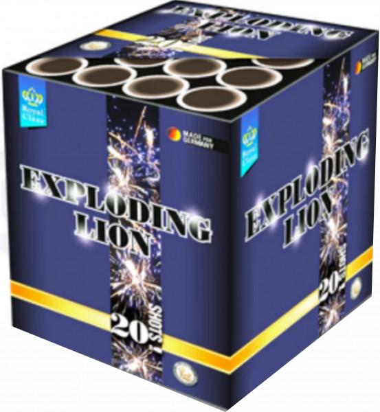 Feuerwerk Exploding Lion von Lesli online kaufen im Feuerwerkshop Funkelfun
