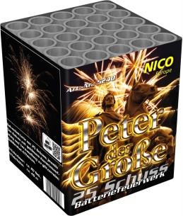 Feuerwerk Peter der Große von NICO online kaufen im Feuerwerkshop Funkelfun