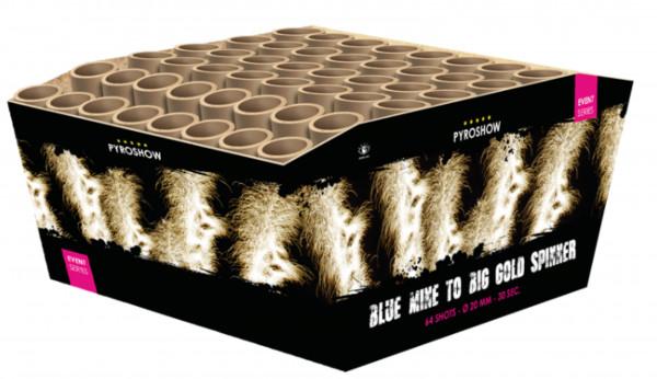 Feuerwerk Blue Mine to Big Gold Spinners von Broekhoff online kaufen im Feuerwerkshop Funkelfun